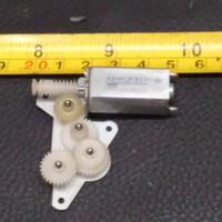 Dinamo Mini Gear Motor DC 3.7V 5 V 7,5 Volt