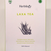 Herbilogy Laxa Tea 100 Gram