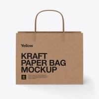 CUSTOM shopping bag / paper bag / tas kertas , percetakan sendiri