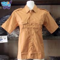 Baju Pendek Seragam Pramuka Penggalang (Seragam Sekolah SMP/SMA)
