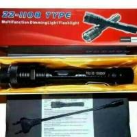 MURAH SENTER JUMBO STUN GUN ZZ-1108 ALAT KEJUT LISTRIK/2 IN 1