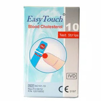 MURAH Easy Touch strip kolesterol isi 10