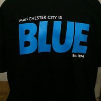 Kaos /tshirt big size Manchester city 2XL, 3XL, 4XL