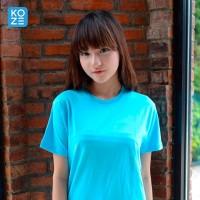 Kaos Polos Koze Combed 30 s ( Premium Comfort Sky Blue )
