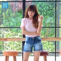 Kaos Polos Koze Combed 30 s ( Premium Comfort Soft Pink )