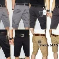 Celana Pendek Chino Zara Man / celana chinos   pendek  Vans