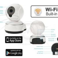 HD Wireless Ip Camera Video Baby Monitor Q3 - V380 720P