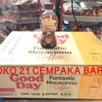 GOOD DAY MOCACINNO 1 KARTON isi 24 BOTOL  Kopi Coffee Mocca Moka Promo