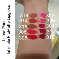 Loreal Paris Infallible Pro Matte Lip Gloss