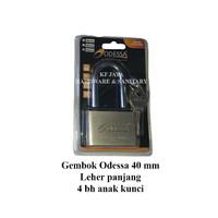 Gembok ODESSA 40 mm Leher panjang