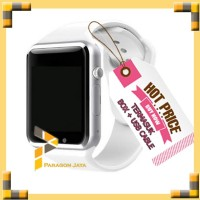 SMART WATCH A1 / SMARTWATCH U10 PUTIH WHITE SIMCARD MICRO MEMORY CARD