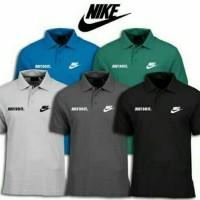 Kaos Polo T-shirt Pria BIG SIZE 3XL 4XL NIKE JUST DO IT