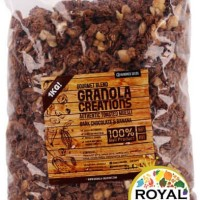 Granola Creation Dark Chocolate & Banana- GOURMET MIX 1KG