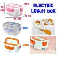 Lunch box Power Electric Penghangat makanan/kotak bekal power kids