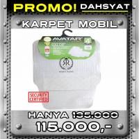Karpet Mobil Universal Avatar 5001Transparan Agya Ayla Yaris Jazz Brio