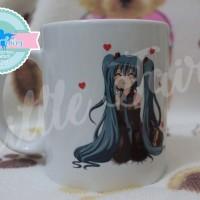 Mug Cangkir Miku Hatsune Custom