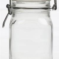 2000ml / 2 liter Toples Kaca Hermetico : Penutup berpengait / kait