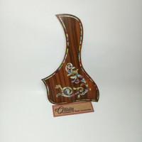 Pickguard Akustik Taylor Motif Floral 2