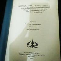 Jual Skripsi Manajemen Murah Harga Terbaru 2020