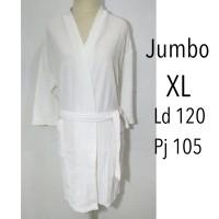 handuk mandi kimono dewasa renang jumbo putih