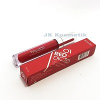 Wardah Lip Cream 01 Red-Dicted