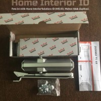 Door Closer DORMA TS 68 Non Hold Open (NHO) Silver / Coklat Original