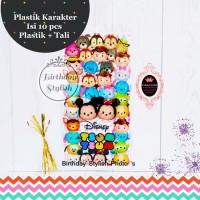 Plastik Snack atau Bingkisan Ulang Tahun Anak Kecil Tsum Tsum