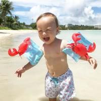 Arm Band Crab Kepiting Ban Anak 3-6 Tahun Floaties Renang Pelampung