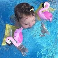Arm Band Pink Flamingo Ban Anak 3-6 Tahun Floaties Renang Pelampung