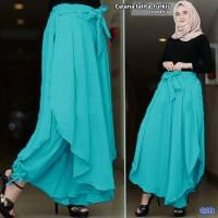 celana talita turkis/celana kulot lapis rok tali ikat cewek hijab