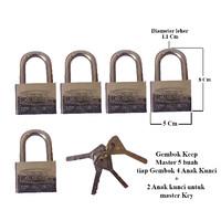 Gembok KEEP 50 mm Master Key