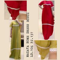 dress mazaya daster arab murah rayon bagus/ daster turki - Abu-abu