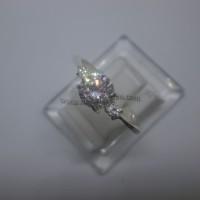 Cincin Wanita-Simple Elegan-Perak 925 (seri RL010B)
