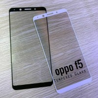 Tempered Glass Full Covered Oppo F5 F 5 PLUS Screen Protector