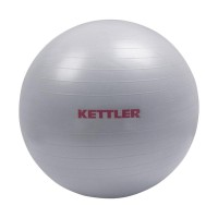 Kettler Gym Ball Peralatan Fitness - Silver [55 cm/134-000] 002002009