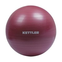 Kettler Gym Ball Peralatan Fitness -Burgundy [75 cm/134-120] 002002014