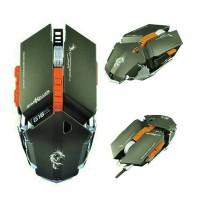Dragon War StarKiller G16 Blue Sensor Gaming Mouse GREY - ELE-G16-GREY