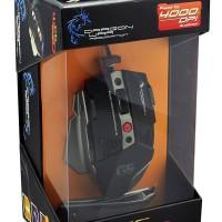 Dragonwar G5 Warlord Professional 4000dpi Gaming Mouse Blue Sensor