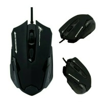 Dragon War Emera G11 Blue Sensor Gaming Mouse BLACK - ELE-G11-BLACK