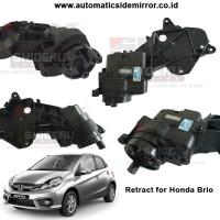 Retract Mirror Kit / Spion Lipat Otomatis Honda Brio Switch Single