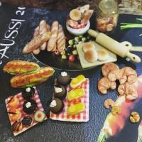 Miniatur clay set roti