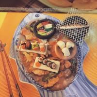 Miniatur clay set japan food