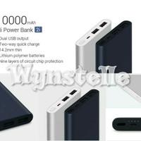 Powerbank Power Bank XIAOMI Mi2i 10000mAh Dual USB Fast Charging ORI