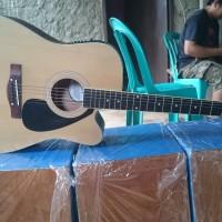 gitar akustik elektrik cort natural Doff