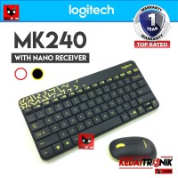 LOGITECH MK240 NANO Wireless Keyboard+Mouse Combo ORIGINAL MK 240