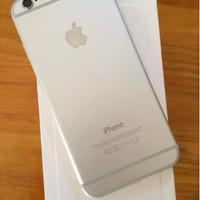 Iphone 6 16gb Silver White Fullset Mulus Like New