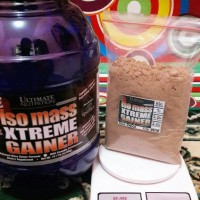 ISO MASS ISOMASS XTREME GAINER 5lbs ECER ULTIMATE NUTRITION