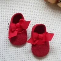 SEPATU RED PITA-ANAK CEWEK BABY PEREMPUAN IMPORT