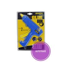 KRISBOW GLUE GUN / LEM TEMBAK 60 W 1,1 CM - BIRU
