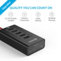 Anker PowerDrive 5 Multi Port Car Charger - Black [A2311H12]